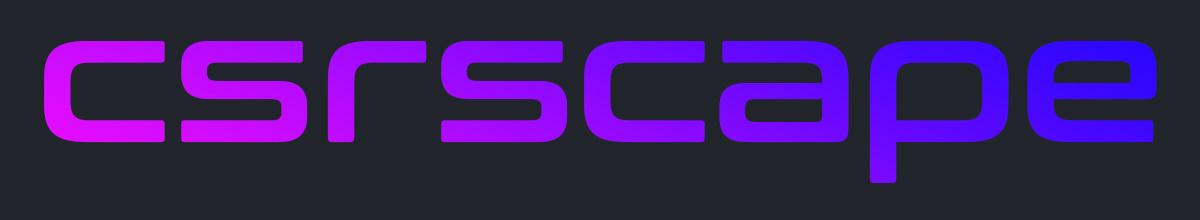 CSRScape Help