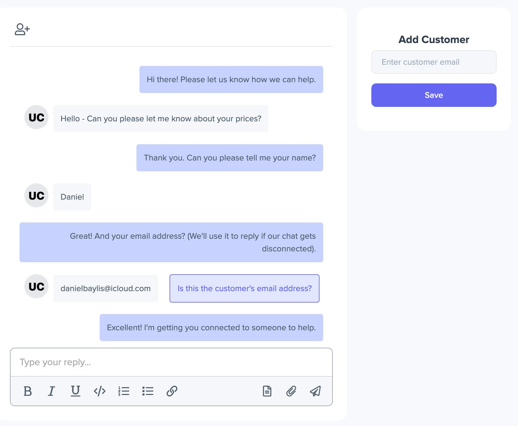 SwiftDesk - Live Chat